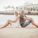 Couple photo shoot in Puerto Mogan Gran Canaria