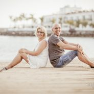 Couple photo shoot in Puerto Mogan Gran Canaria