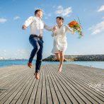Bryllup på Sjømannskirken – Siren og Thomas