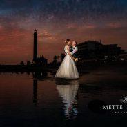 Strandfotografering – bryllupsreise