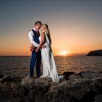 Danielle og Iain – bryllup