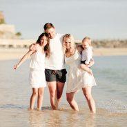 Family photography – Amadores Beach